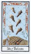 Dagens tarot-kort: Seks staver